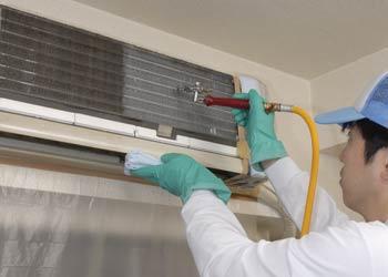 エアコン清掃「壁掛けタイプ」