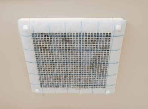 万能クリーンフィルター換気扇イメージ