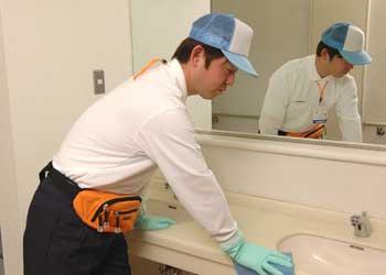 洗面台、洗面所の清掃