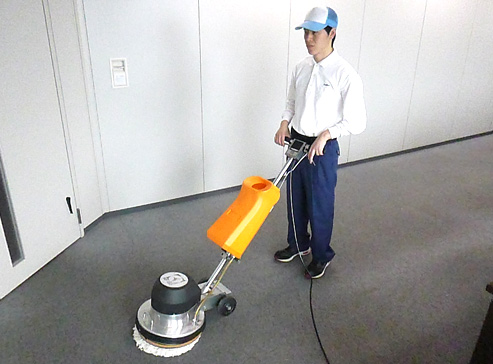 プロのお掃除サービス、床、フロア