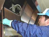 プロのお掃除サービス、厨房清掃