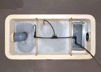 グリストラップ、排水管、側溝の清掃