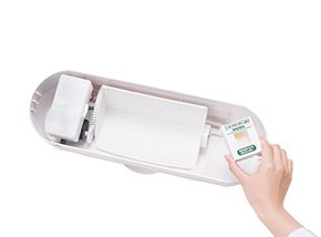 ノンタッチサニタリーBOX専用消臭剤使用イメージ
