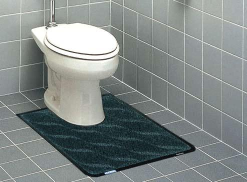 トイレマットU型、洋式便器用