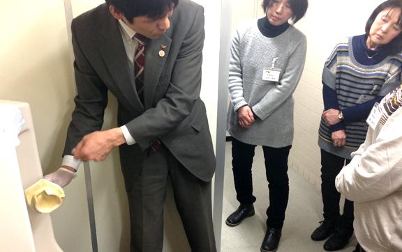 ネクスコ東日本トラスティお掃除教室の写真