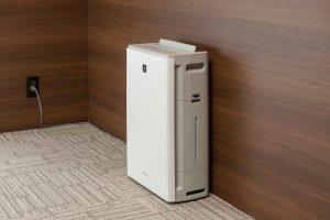 空気清浄機の設置イメージ
