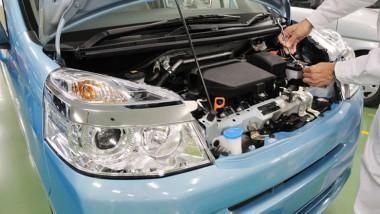 車整備の写真