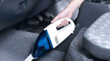 車内の掃除機