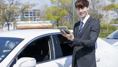 車の営業マン