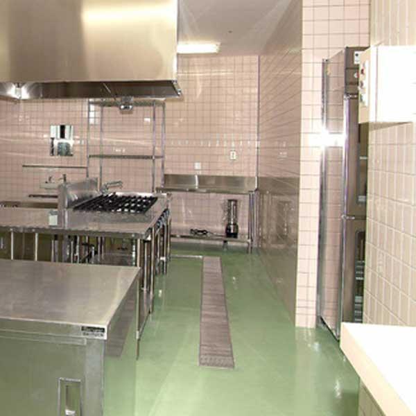 厨房の排水溝の写真