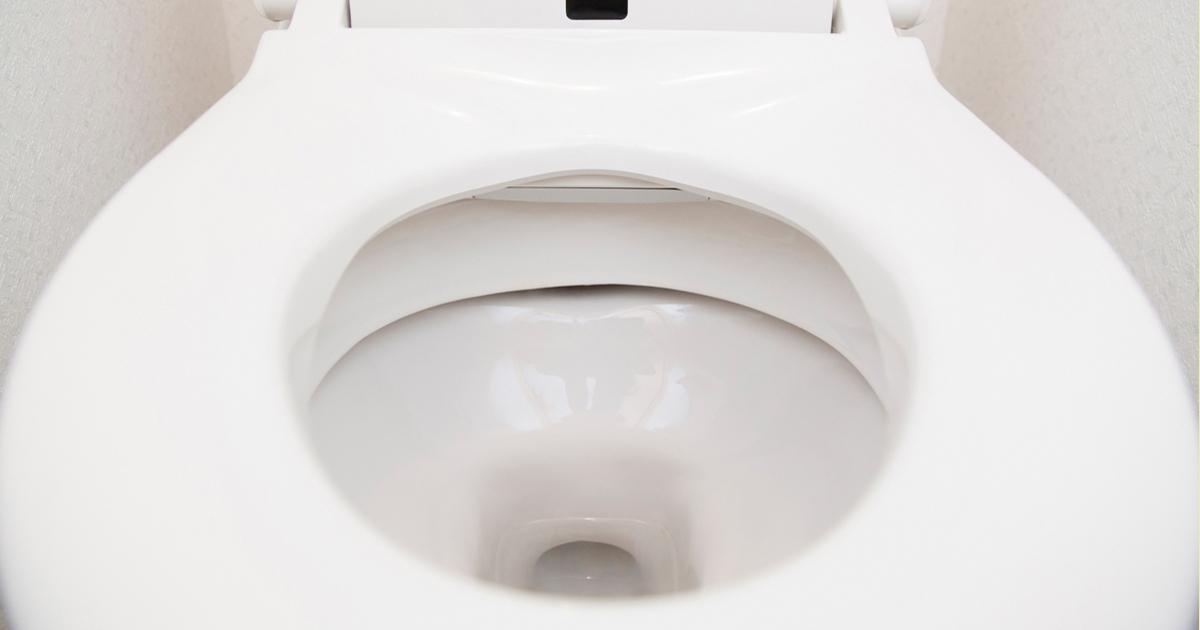 ウォシュレット付きトイレの内側の写真