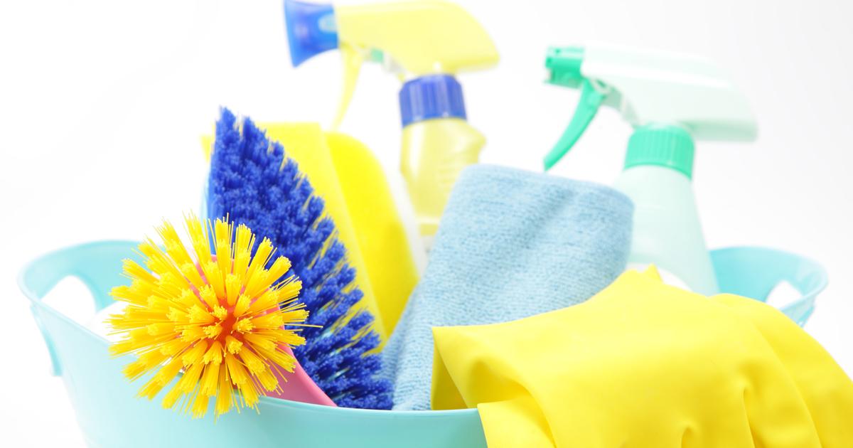 2人に1人はお掃除でストレスを解消している