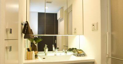 洗面所のクッションフロア「黒ずみ汚れの落とし方」