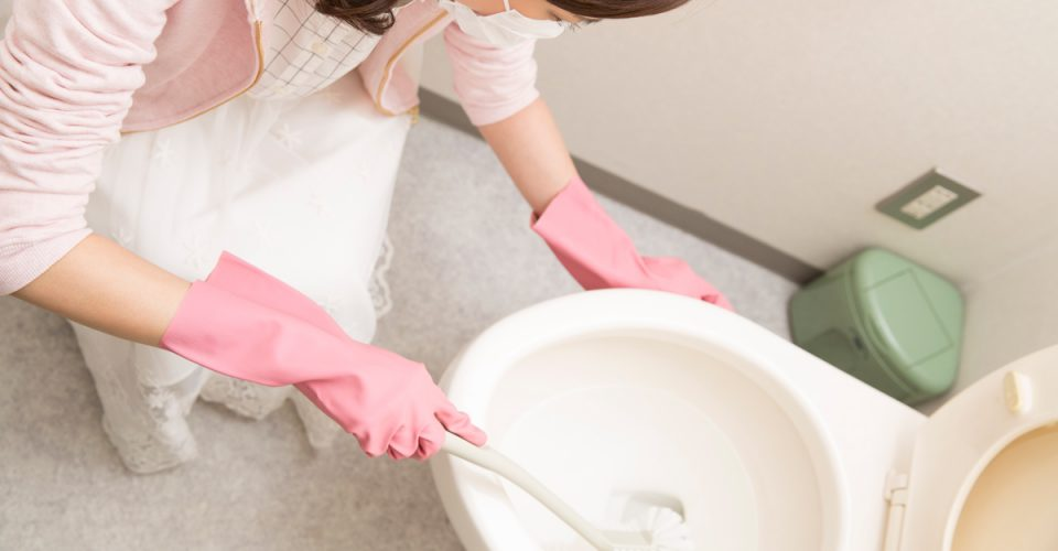 トイレ用洗剤でトイレまるごとキレイ(全5回)「その1. タンク編」