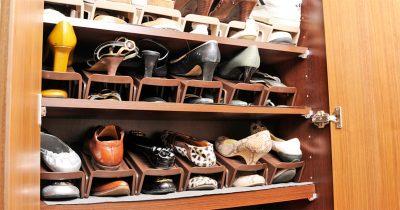 靴の置き方だけで靴箱の収納スペースを劇的に増やす