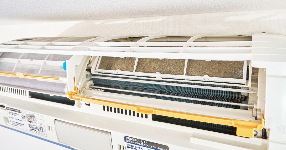 お掃除機能付きエアコンは自分でお掃除しなくてもいいの?