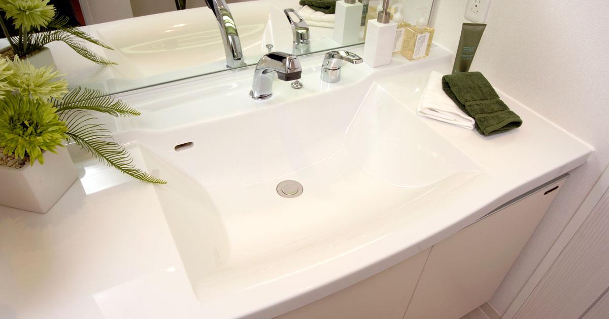 洗剤は使わない。洗面ボウルのお掃除の仕方