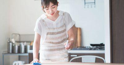 新型コロナ対策「ドアノブやテーブルなどの消毒には家庭用洗剤が有効」