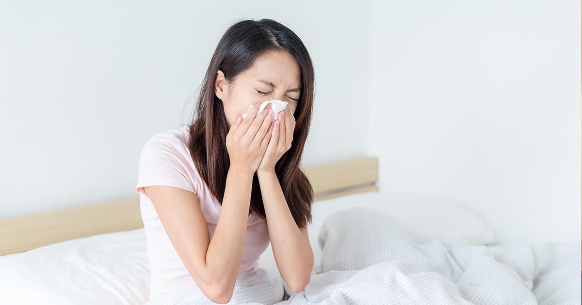 モーニングアタックとは?朝のくしゃみや鼻水の原因は?